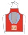 Turquaz Red Balloon Apron